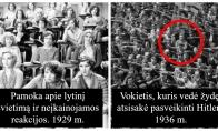 Itin retos istorinės nuotraukos, kurių nepamatysi jokiame istorijos vadovėlyje [GALERIJA]