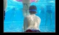 Nardymo kaukė baseine