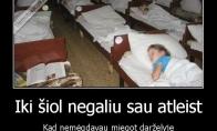 Miegas darželyje
