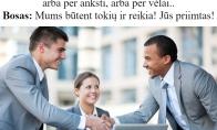 Pats lengviausias interviu dėl darbo
