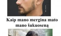 Vyriška šukuosena