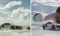 Kaip buvo sukurta reklama Audi R8 automobiliui