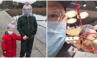 Kaip žmonės Kinijoje saugosi nuo Corona viruso