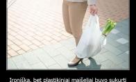 Ar žinojote, kam iš tiesų buvo sukurti plastikiniai maišeliai?