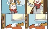 Katinų pasitikimas
