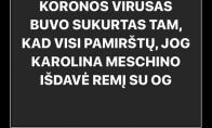 Juokingas faktas apie koronaviruso situaciją Lietuvoje