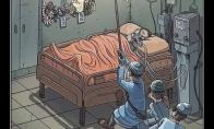 Dar viena stipri iliustracija skirta medikų pagerbimui
