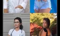 Seksualiausios pasaulio gydytojos ir slaugytojos su uniformomis ir be