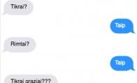 Įkyrus merginos klausimas