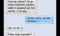 Išsiskyrimo SMS