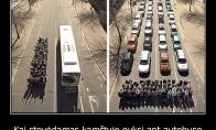 Kodėl verta gerbti autobusų vairuotojus