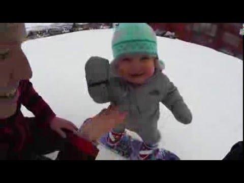 Kūdikis snieglentininkas