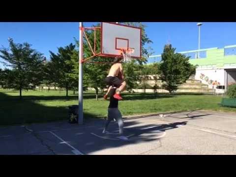Profesionalus krepšinio triukas