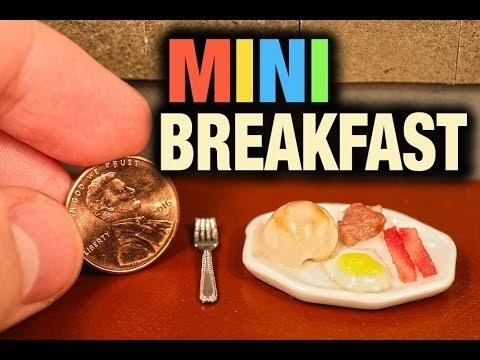 Mažiausi pusryčiai pasaulyje