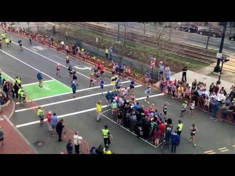 Kaip pereiti gatvę maratono metu?
