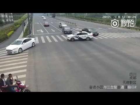Šaunus Kinijos policininko poelgis