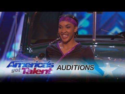 Lanksčiausia mergina Amerikos talentuose