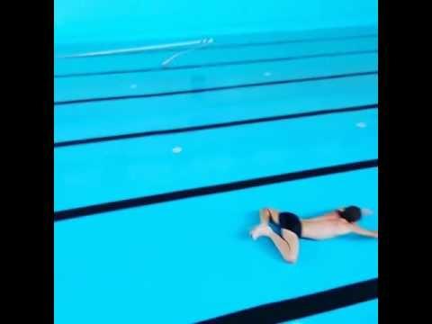 Plaukimo varžybos be vandens