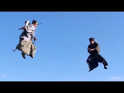Skraidantys samurajai