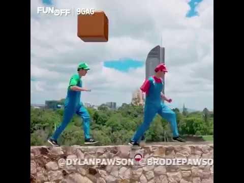 Super Mario realiame gyvenime