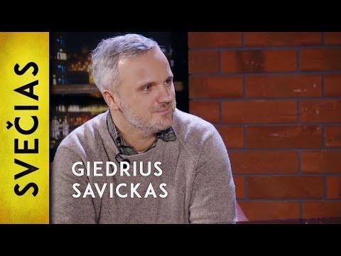 Giedrius Savickas pas Andrių Tapiną