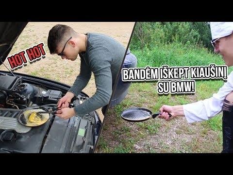 Kaip lietuviai su BMW kiaušinius kepė