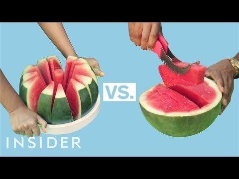 Greičiausias arbūzo supjaustymo būdas