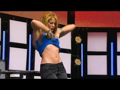 Šakiros šokių judesiai