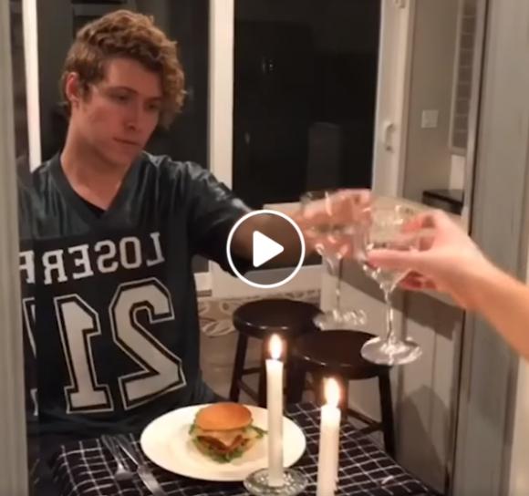 Romantiška vakarienė