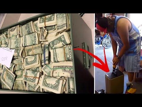 Šis vyras nusipirko apleistą sandėlį ir rado jame neįtikėtiną sumą pinigų