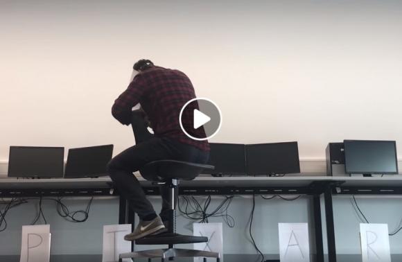 Pixar intro atkūrimas darbo vietoje