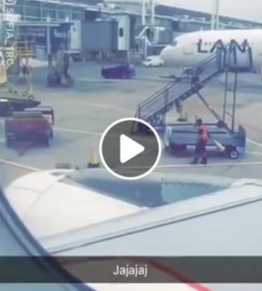 Kai oro uoste dirbti pasidaro nuobodu