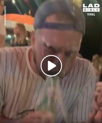 Ne pats geriausias būdas susidaužti buteliais