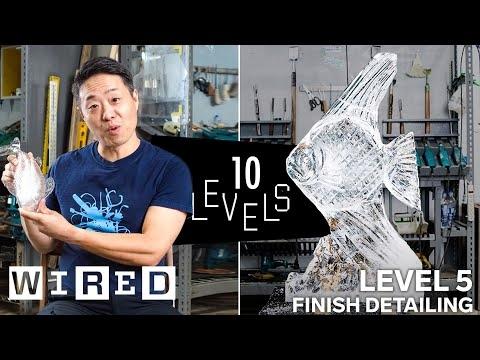 Kaip gaminamos skulptūros iš ledo