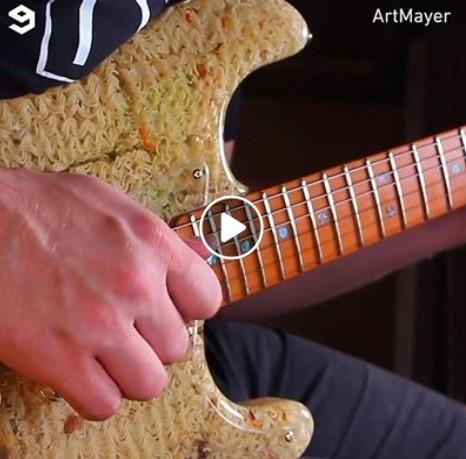 Bomžpakių gitara