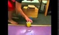 Golf pong shots (1 video)