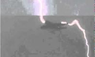 Žaibo iškrova pataikė į Airbus A380