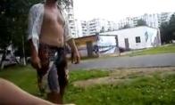 Rusijos policininkas prieš gyvulį