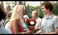 Coca-Cola laimės automatas. Iš Rusijos su meile