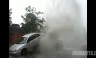 Automobilis ir geizeris