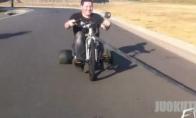 Emo ant dviračio
