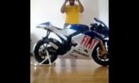 Ekstremaliausias pasivažinėjimas motociklu