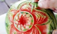 Magiškas arbūzų raižymas
