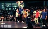 Geriausių break-dance šokėjų pasirodymas