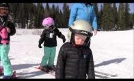 Kaip aš mėgstu slidinėti