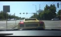 Nesuvaldė Lamborghini arklių