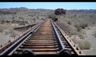 Pasivažinėjimas apleistu geležinkeliu