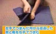 Kaip gražiai sulankstyti marškinėlius per kelias sekundes