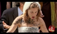 Praeivė sugadino nuotakos suknelė