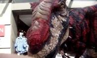 Geriausias visų laikų dinozauro kostiumas